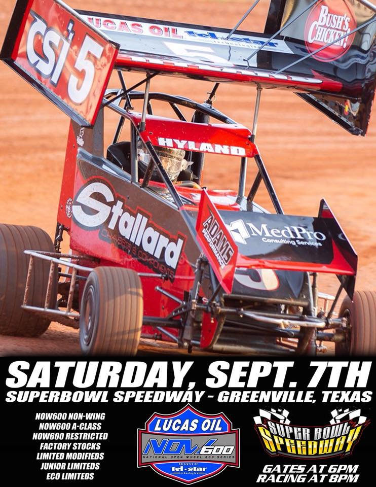 Superbowl Speedway – Greenville, Texas